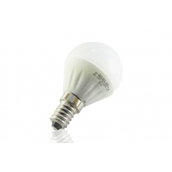 Bombilla de Led Esferica 4W Calida E14 Quoled